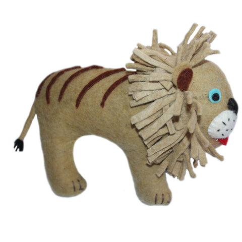 Felted Friend Lion Design - Silk Road (G)