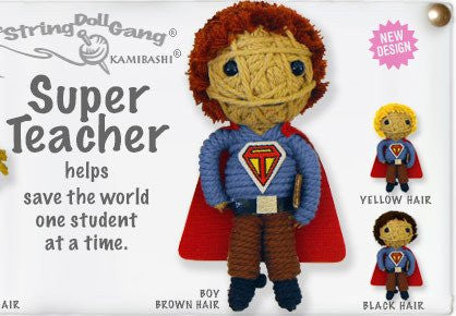 Super Teacher String Doll- male