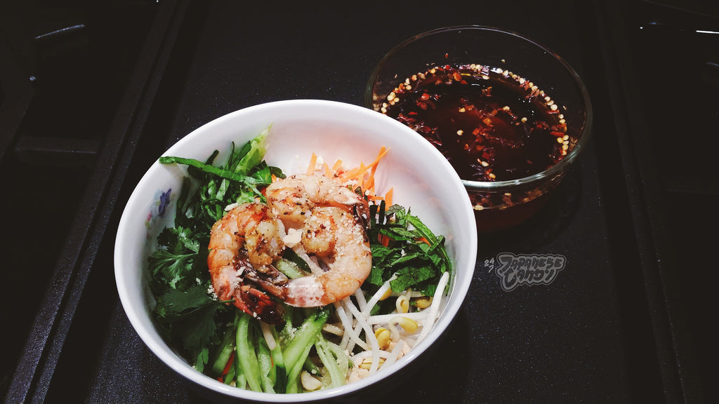 { Weekend Recipe } Vietnamese BBQ Shrimp Vermicelli with Fish Sauce