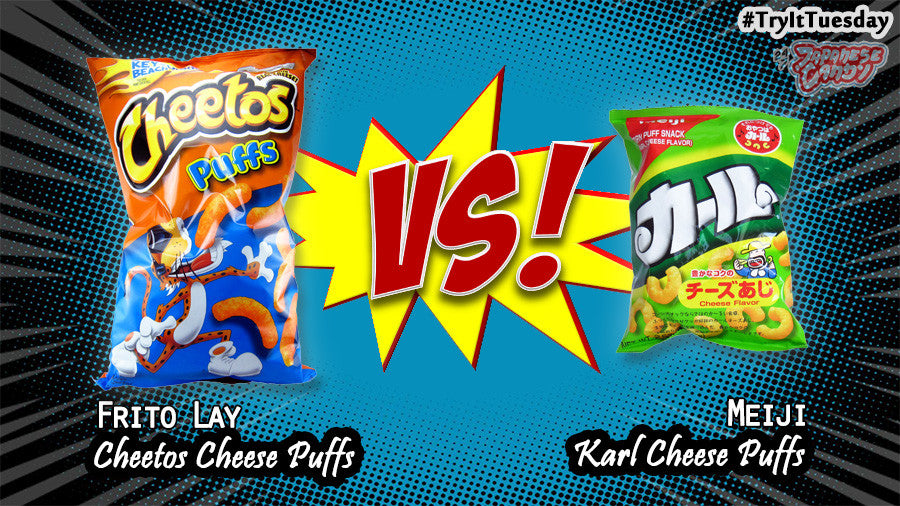 [ Review ] Cheese Corn Puffs (Cheetos VS Karl Cheese)