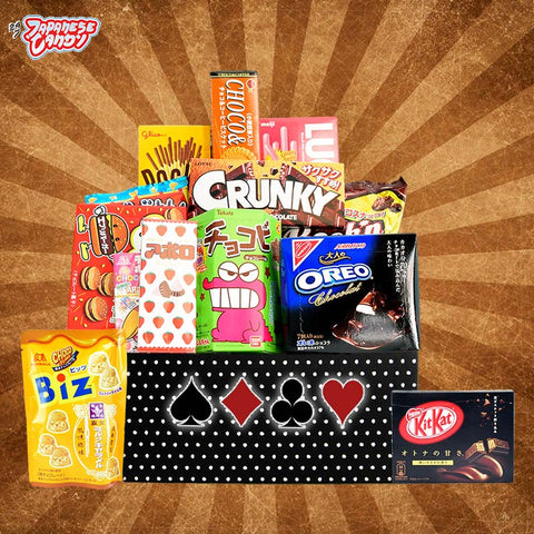 Roulette Snack Box - Discover Japanese and Asian All Things Chocolate for Chocolate Lovers