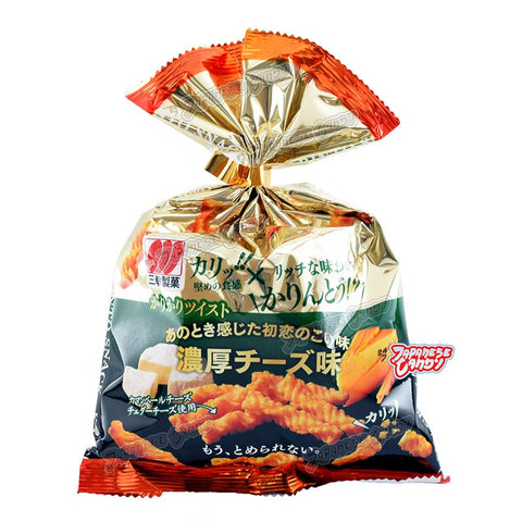Japanese Snack: Amanoya Karikari Twist (Cheese)