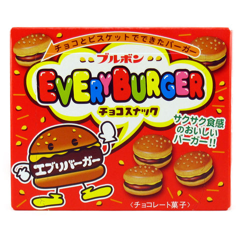 Japanese Snack: Bourbon Every Burger