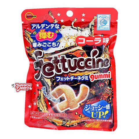 Japanese Candy: Bourbon Fettuccine Gummy (Cola)