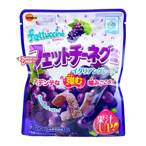 Japanese Candy: Bourbon Fettuccine Gummy (Italian Grape)