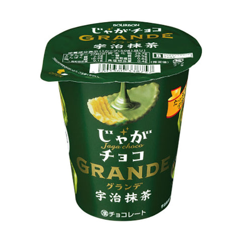 Jaga Choco Grande Potato Chips (Uji Matcha)
