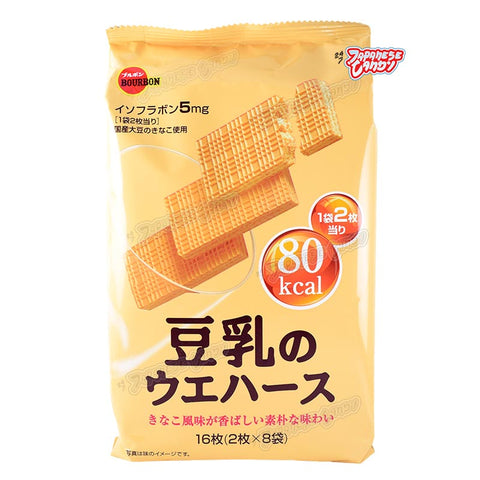 Japanese Snack: Bourbon Tonyu No Soybean Milk Wafer
