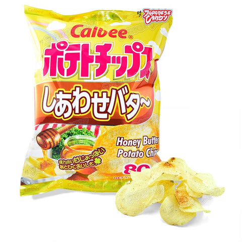 Japanese Chips: Calbee Honey Butter Potato Chips