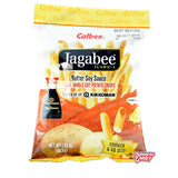 Japanese Snacks - Calbee Jagabee Potato Crisps (Butter Soy Sauce)