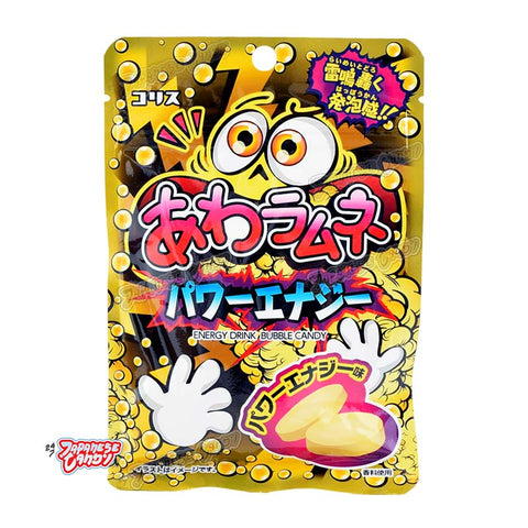 Japanese Candy: Coris Energy Drink Bubble Candy