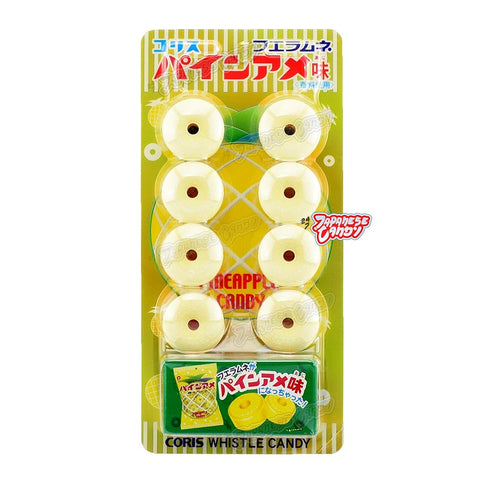 Japanese Candy: Coris Whistle Candy (Fizzy Pineapple)