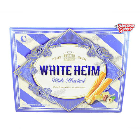 Korean Snack: Crown White Heim (White Hazelnut)