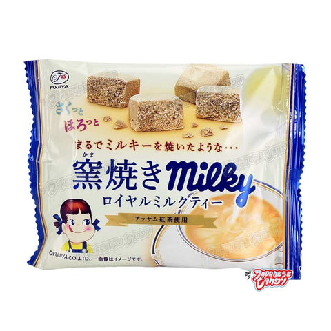 Japanese Snack: Fujiya Baked Royal Milk Tea Biscuit