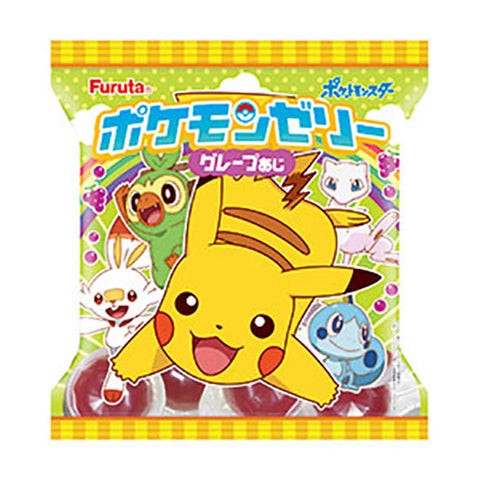 Japanese Snack: Furuta Pokemon Jelly Cup (Grape)