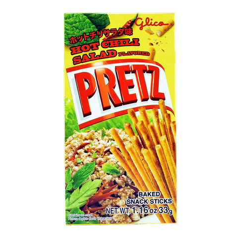 Thailand Snack: Glico Pretz Hot Chili Salad