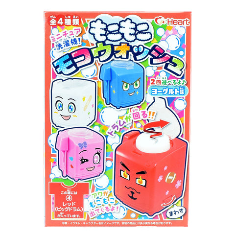Japanese Candy: Heart Mokomoko Moko Wash (DIY Candy Kit)