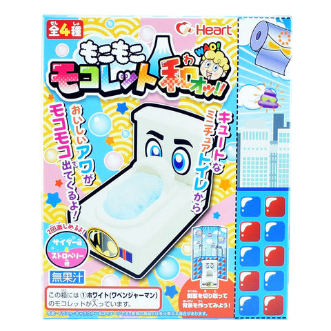 Japanese Candy: Heart Mokomoko Mokolet WAO (DIY Candy Kit)