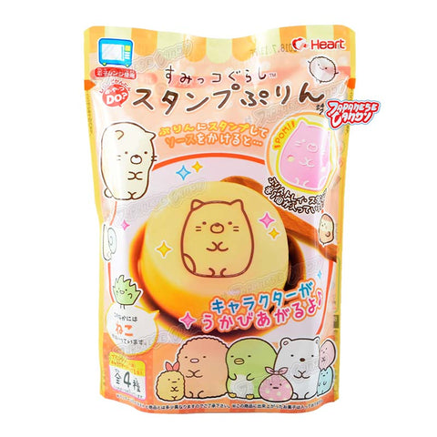 Japanese Candy: Heart Sumikko Gurashi Stamp Pudding (DIY Candy Kit)