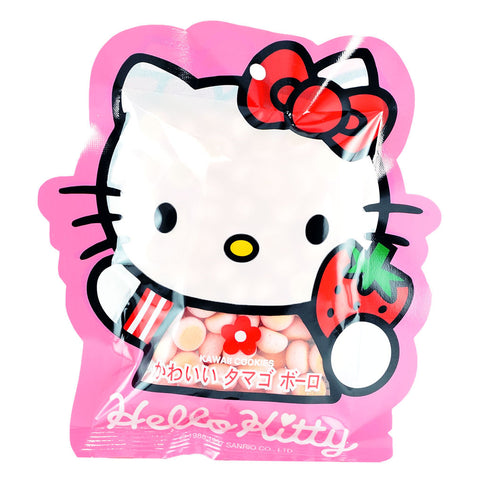Taiwanese Snack: Hello Kitty Strawberry Kawaii Cookies