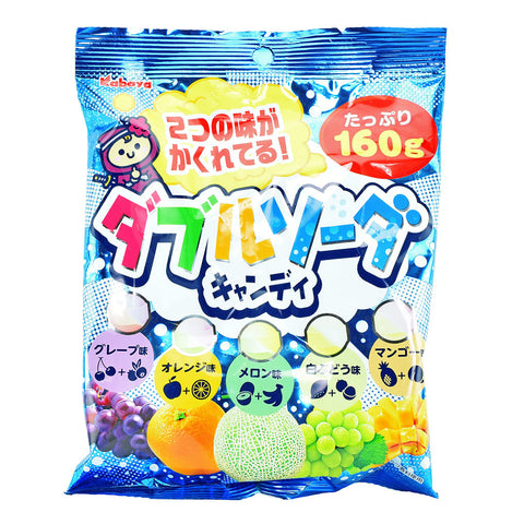 Japanese Candy: Kabaya Double Soda Candy