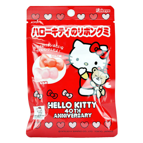 Japanese Candy: Kabaya Hello Kitty Ribbon Apple Gummy