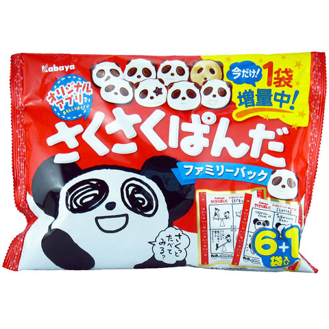 Japanese Food: Kabaya Sakusaku Panda (Family Pack)