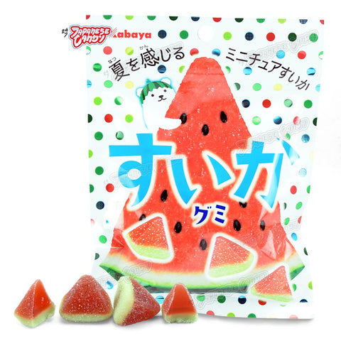 Japanese Candy: Kabaya Watermelon Gummy