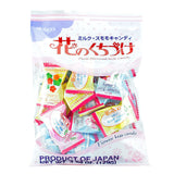 Japanese Candy: Kasugai Flower Kiss Milk Candy