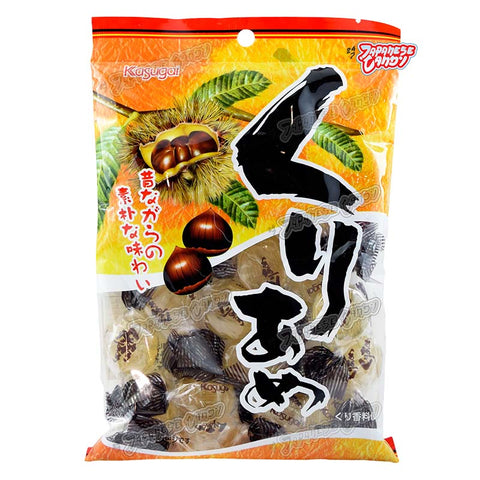 Japanese Candy: Kasugai Kuri Ame Chestnut Hard Candy