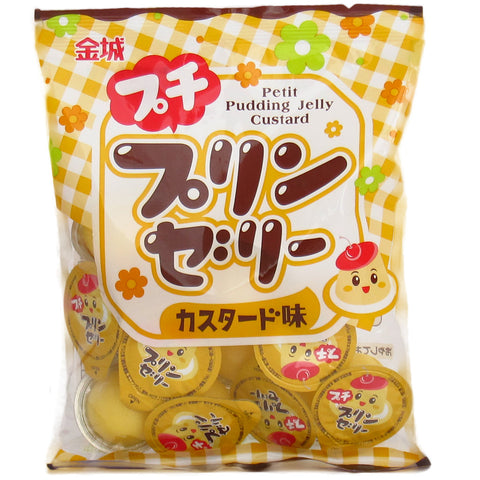 Japanese Food: Kinjoseika Petit Pudding Jelly Custard
