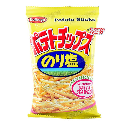 Taiwanese Snacks: Koikeya Japanese Salt & Seaweed Potato Sticks