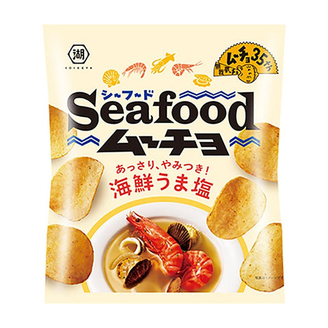 Seamucho Salted Seafood Potato Chips