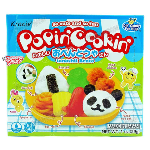 Japanese Candy: Kracie Popin' Cookin' Tanoshii Bento (DIY Candy Kit)