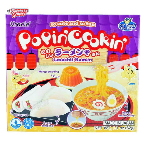 Japanese Candy: Kracie Popin' Cookin' Tanoshii Ramen (DIY Candy Kit)