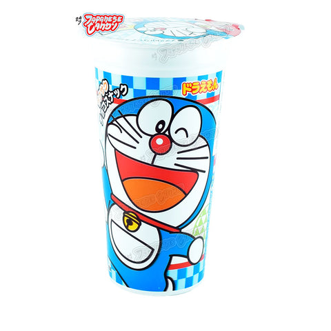Japanese Snack: Lotte Cupcho Doraemon Chocolate Corn Puffs