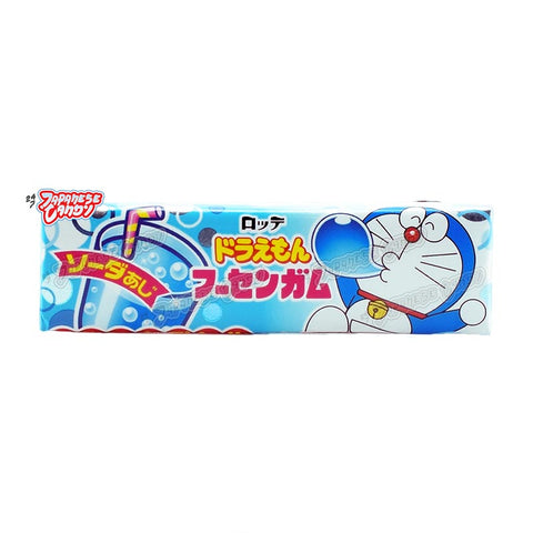 Japanese Candy: Lotte Doraemon Bubble Gum (Soda)