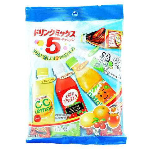 Japanese Candy: Lotte Drink Mix Candy