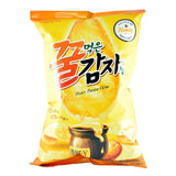 Korean Snack: Lotte Honey Potato Chips