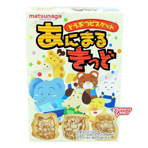 Japanese Snack: Matsunaga Animal Kid Biscuit