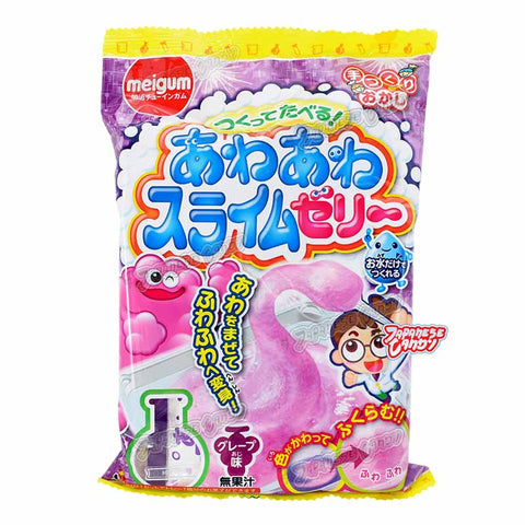 Japanese Candy: Meigum Awa Awa Slime Jelly (DIY Candy Kit)