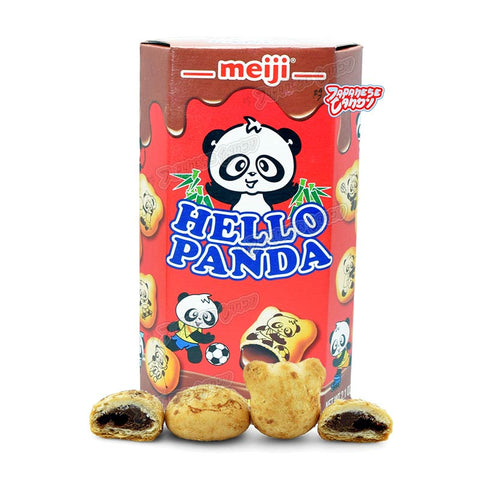 Japanese Snacks: Meiji Hello Panda Cookie (Chocolate)
