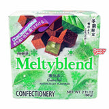 Chinese Chocolate: Meiji  Meltyblend Chocolate (Green Tea)