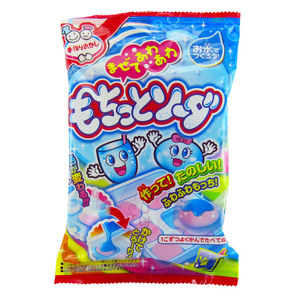 Japanese Candy - Meiji Mochitto Soda Mochi (DIY Candy Kit)