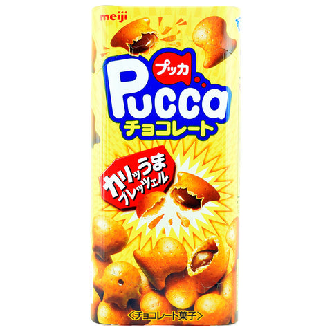 Japanese Snack: Meiji Pucca Chocolate
