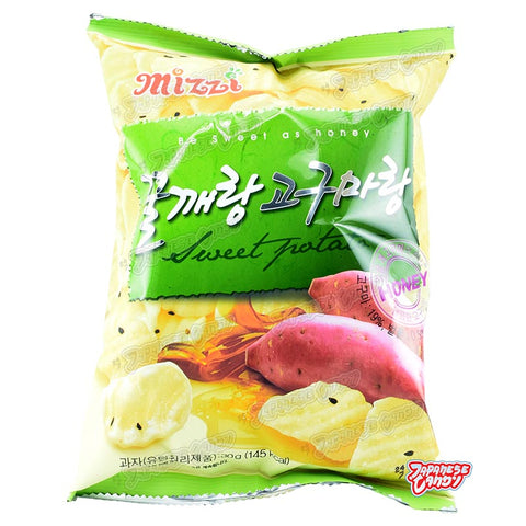 Korean Snack: Mizzi Honey Sweet Potato Chips