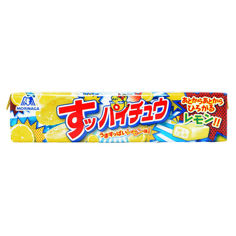 Japanese Candy: Morinaga Hi Chew Suppai-Chew Sour Lemon
