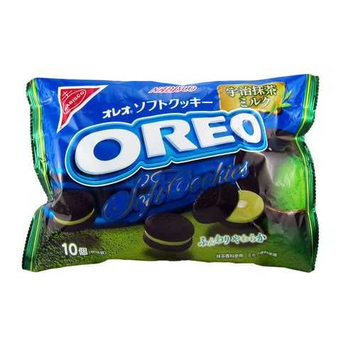 Japanese Cookies: Oreo Soft Cookies (Matcha Green Tea)