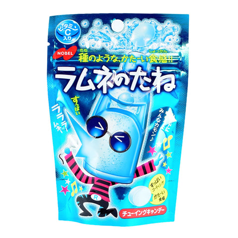 Japanese Candy: Nobel White Soda No Tane Soft Candy
