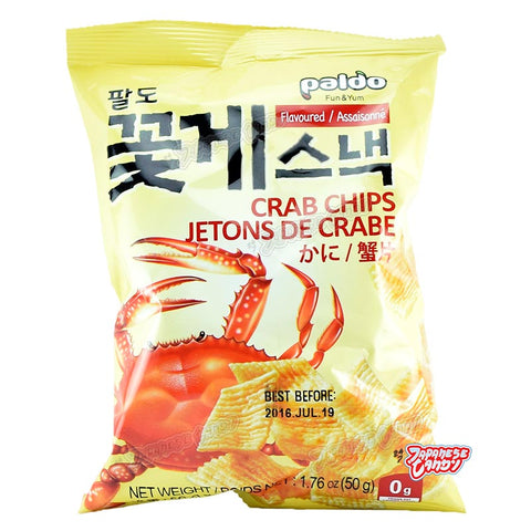 Korean Food: Paldo Crab Chips