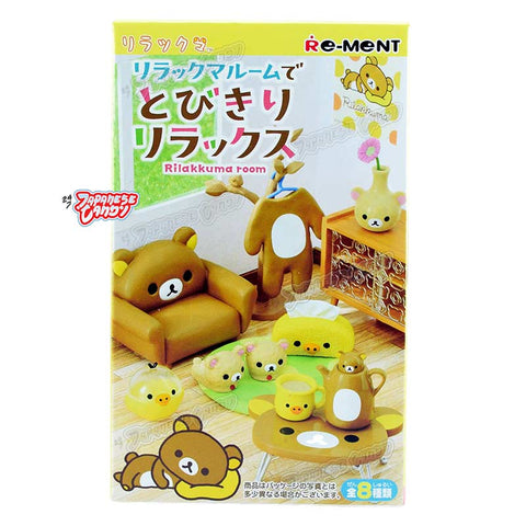 Japanese Collectible Toy: Re-Ment Rilakkuma Room